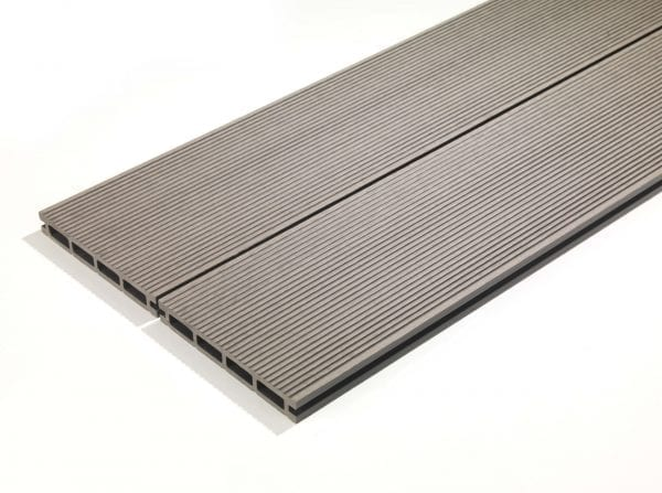 4m Composite Decking Stone Grey